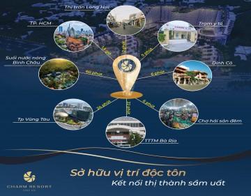 5 lý do không thể bỏ qua dự án Charm Long Hải Resort