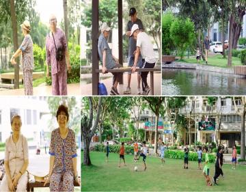 NAM VIÊN - vùng lõi xanh của khu đô thị Phú Mỹ Hưng