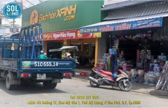 NHÀ PHỐ MẶT TIỀN ĐƯỜNG LỚN TIỆN CHO VIỆC KINH DOANH (S445)